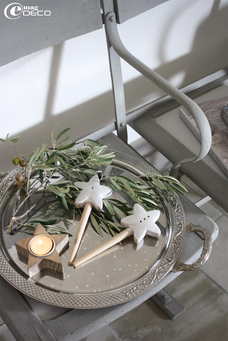 Baguettes Les Étoiles en céramique et bois Maisons du monde