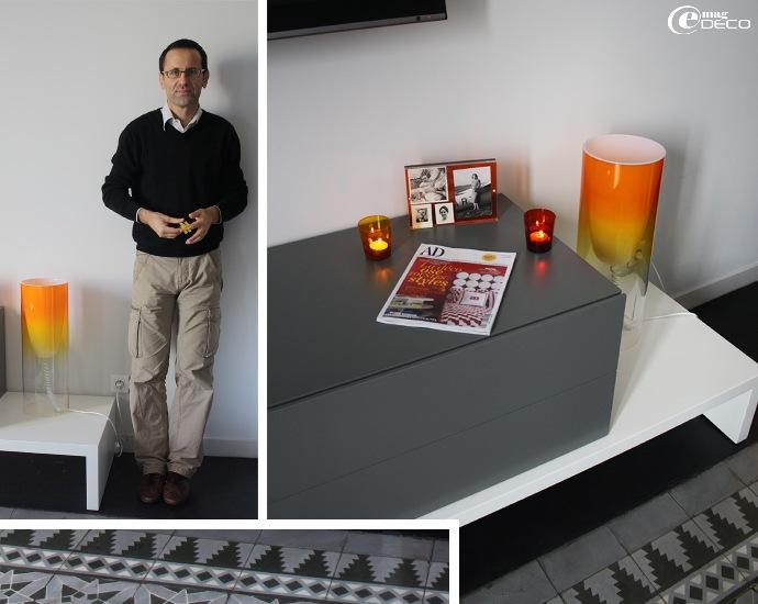 Pierre dans la chambre Mira - Maison d'hôtes Les 4 étoiles