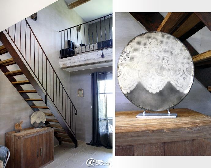 Le Studio Lin de la maison d'hôtes Le Mas de Cink à Saint-Saturnin-lès-Apt