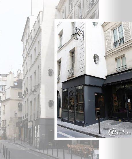La boutique Galerie Salon, rue Bourbon-le-Château à Paris