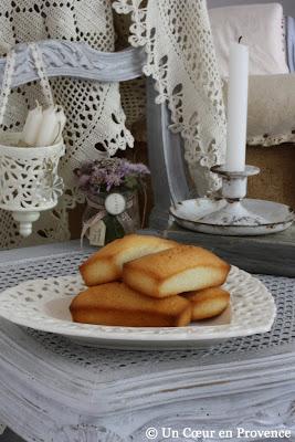 Mini cakes aux amandes