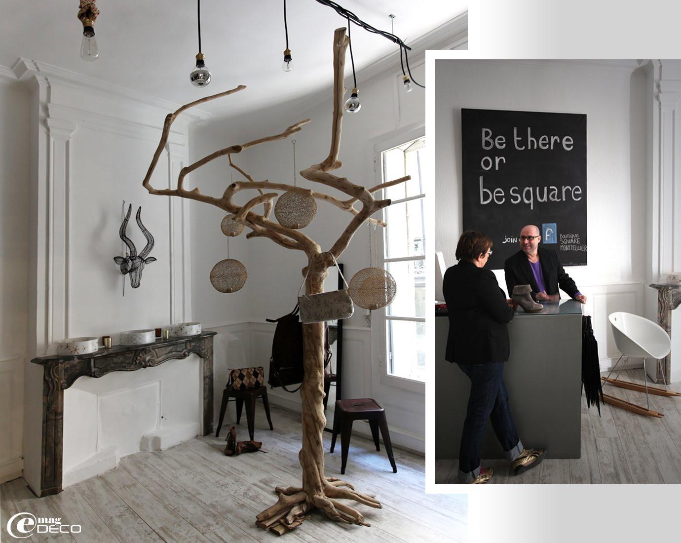 La boutique de décoration et de mode 'Square', à Montpellier