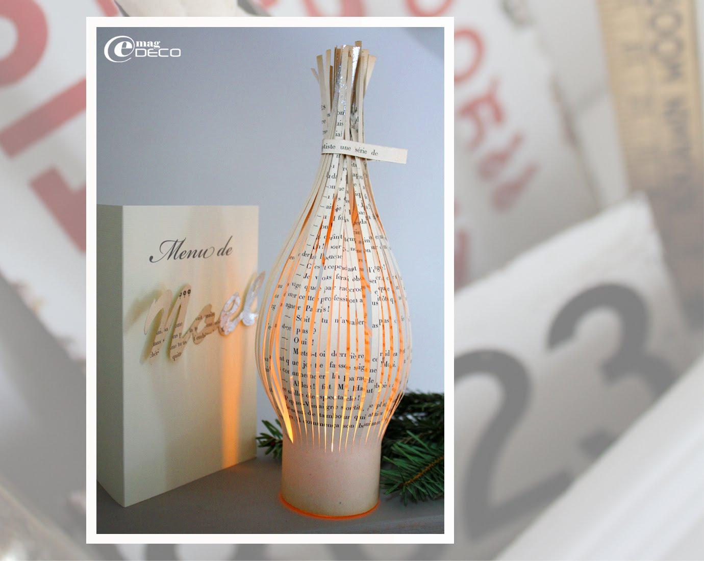 Création d'un lampion éclairé par une bougie LED