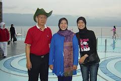 Parapat di Danau Toba