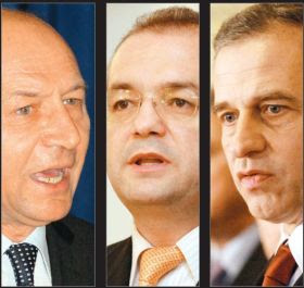 Geoana , Basescu si Muc cel Mic