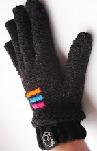 guantes bordados tonos grafito