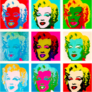 andy warhol and his painting marilyns essay An discussion about andy warhol's drawings of celebrities  likeness / warhol / drawing  in other paintings, the image of marilyn was repeated, multiplied in.