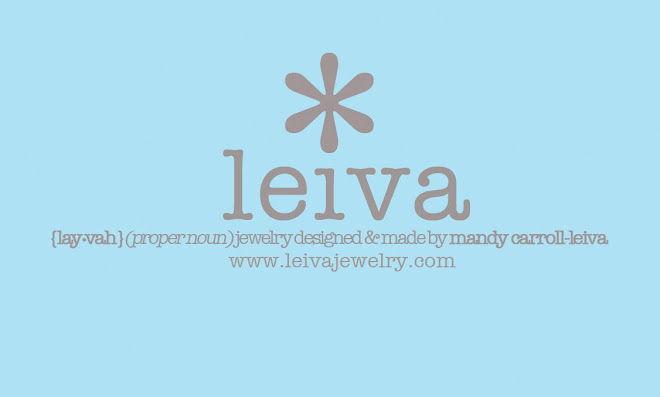 leiva, jewelry designed & made by mandy carroll-leiva