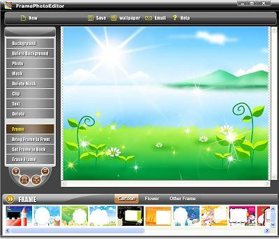 Download program de facut rame la poze - Frame Photo Editor