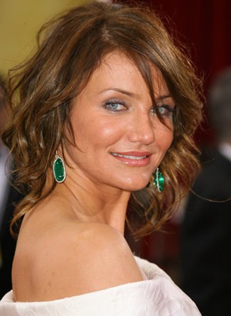 cameron diaz hair 2011. cameron diaz hair colour.