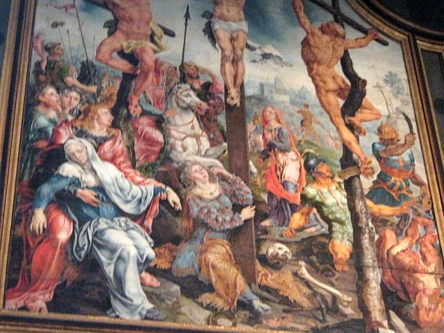 photo of Van Heemskerck  painting in Linköping cathedral by Susan Wellington