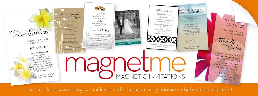 M  A  G  N  E  T  M  E - Magnetic Invitations