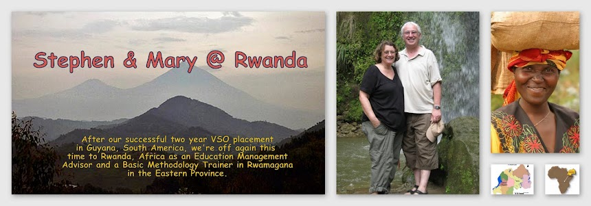 Stephen and Mary @ Rwanda