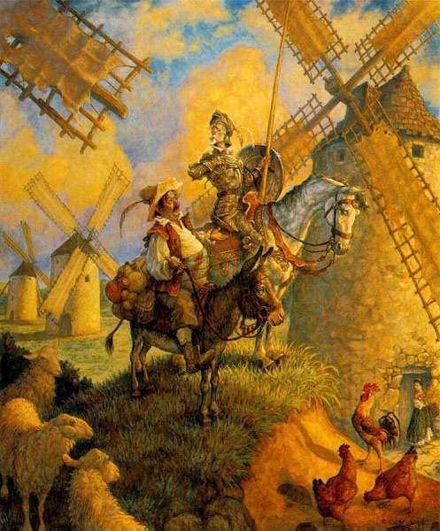 ادبي: سلام دون کیشوت به دنیا