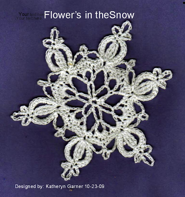 Free Crochet Patterns: Free Crochet Snowflake Patterns
