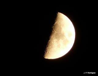 Luna, Cuarto creciente, Quintanilla de Arriba