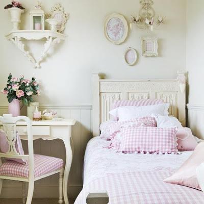 girls-bedroom1 Quartos estilo francês!