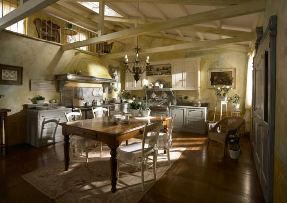 Huset i skogen: kjøkkeninnredning