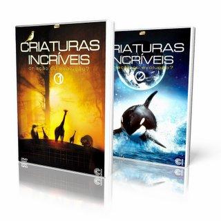 Criação vs. Evolução: Criaturas Incríveis Vol. 1 e Vol. 2 Dublado DVDRip XviD