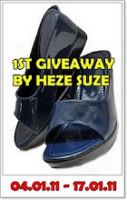 1st Giveaway by HEZE SUZE
