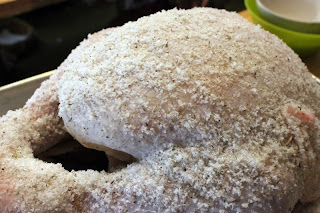 Salt Crusted Turkey