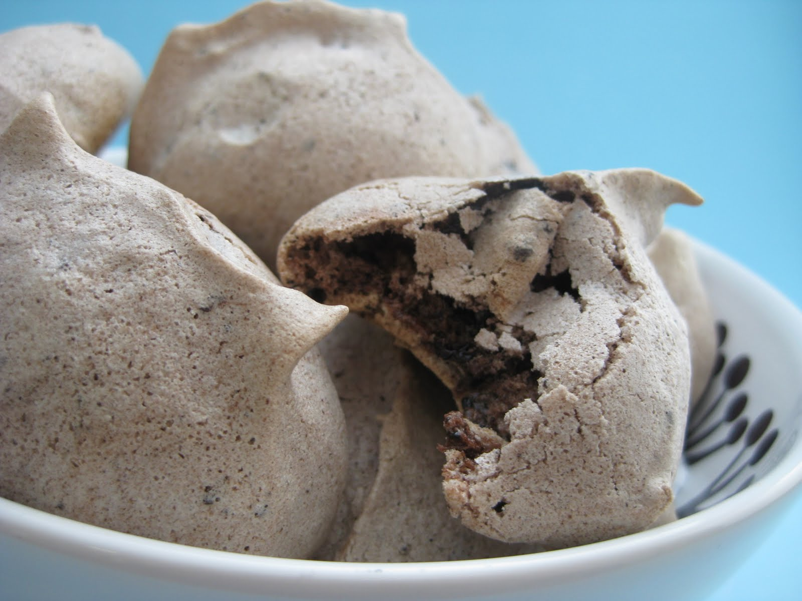Chocolate Chip Meringue Cookies Chocolate chip meringue