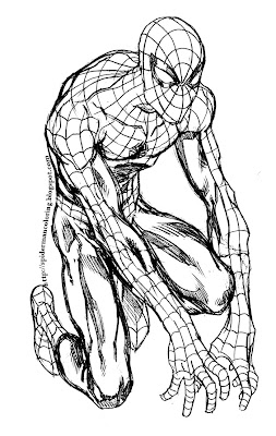 Spiderman Coloring Sheets on Spiderman Coloring  Free Spiderman Coloring