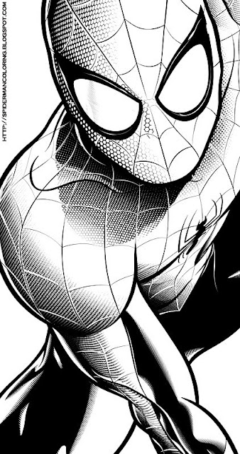 coloring pages of ultimate spider man - free e ultimate spider man coloring pages