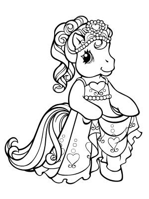 Princess Coloring Sheets on Princess Coloring Pages
