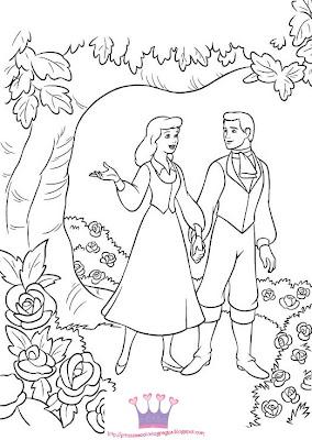 Princess Color Page