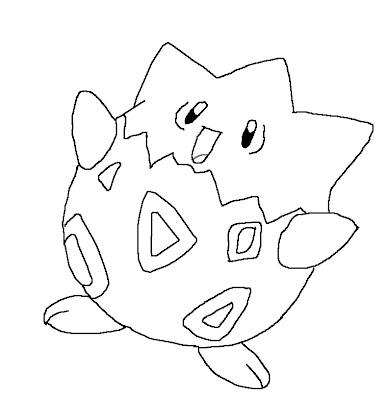 coloring pages pokemon. Pokemon coloring page for