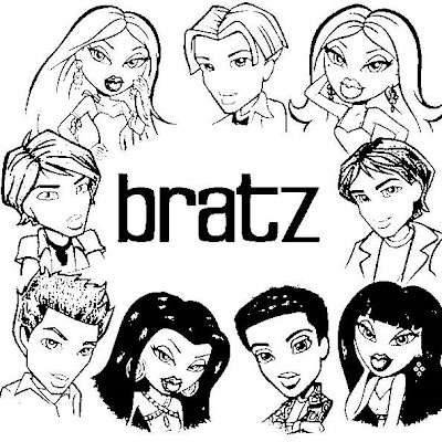 Bratz Coloring Pages on Bratz Coloring Pages  Color In Bratz