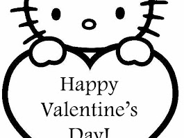 Hello Kitty Free Printable Valentine Cards