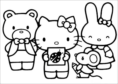 Hello+kitty+pictures+to+print+and+colour