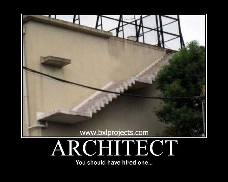 poms in oz funny architect architecture motivational