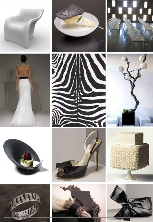 For example here is an elegant modern wedding with a ZEBRA Theme So fun
