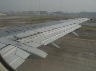 離陸のフラップ