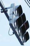 薄い信号機