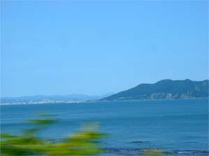 函館山を遠望