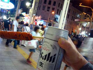ビールとソーセージとねぶた