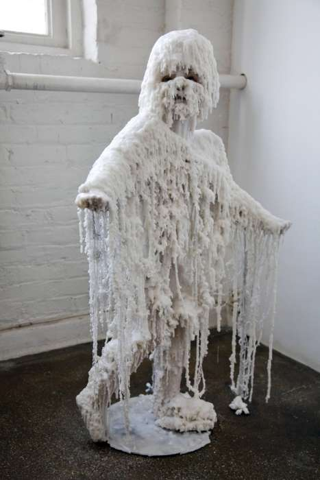 Creepy Wax Sculptures