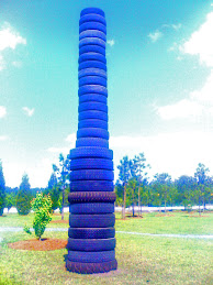 Endless Tower of Tires