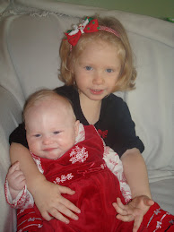 Rylee and Ella -Christmas Pic '09