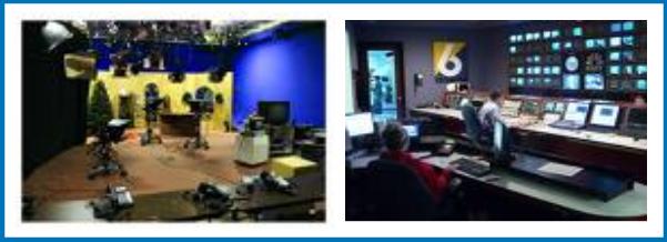 Ruang Studio dan Ruang Presentation Televisi