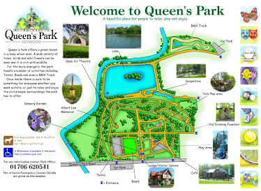 Queen's Park, Rochdale, Interpretation Board