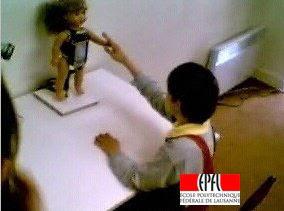 Robota the robot doll