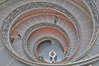 double helix in vatican
