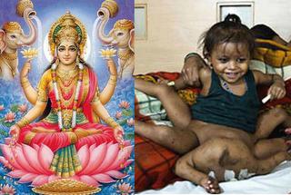 SERES EXTRAORDINARIOS (OJO NO MIRAR SI SE IMPRESIONA)  Lakshmi_