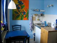 Blick in die Blaue Wohnung für 2 Pers.