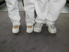 White feet - The new safety footwear for ships.